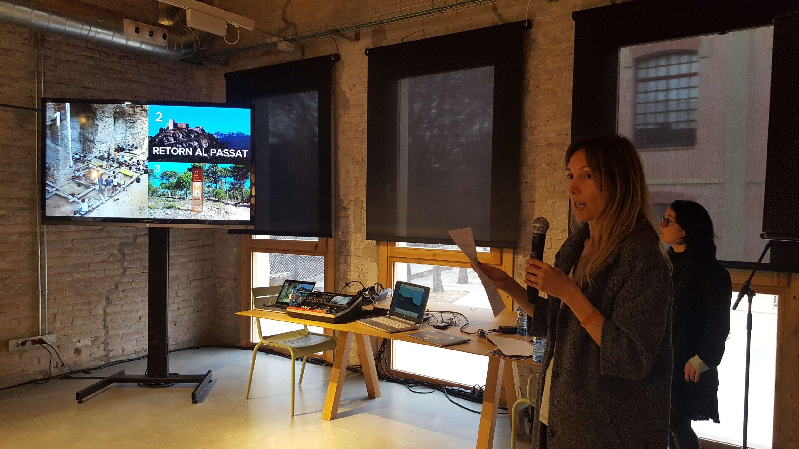Sessió Del Healthy Destinations Lab Organitzat Per Airbnb A Igualada.
